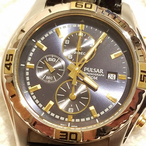 Pulsar Other - Pulsar by Seiko Chronograph Watch Blue Dial